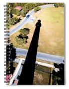 Lighthouse Shadow Spiral Notebook