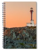 Lighthouse Sunset Spiral Notebook