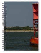 Lighthouse To Buoy Spiral Notebook