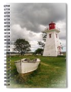 Lighthouse Victoria By The Sea Pei Spiral Notebook
