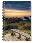 Lighthouse View Spiral Notebook