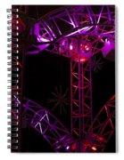 Lighting At Conagra Skating Rink Spiral Notebook