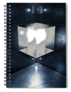 Lighting In Cube Spiral Notebook