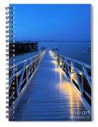 Lighting The Way Spiral Notebook