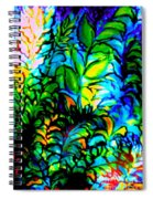 Lighting Up The Night Spiral Notebook