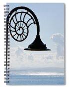 Lighting Up The Ocean Spiral Notebook