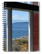 Lightkeepers View Spiral Notebook
