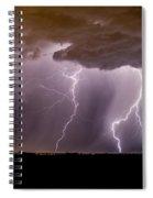Lightning 11 Spiral Notebook