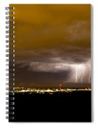 Lightning 17 Spiral Notebook