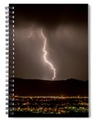 Lightning 3 Spiral Notebook