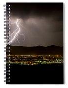 Lightning 4 Spiral Notebook