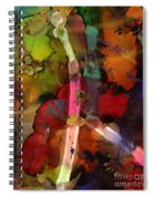Lightning Angel Spiral Notebook