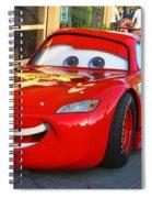 Lightning Mcqueen Spiral Notebook