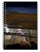 Lightning Storm Spiral Notebook