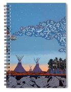 Lightning Walker Spiral Notebook