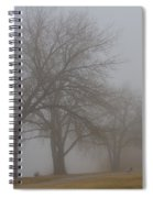 Lights And Fog Setting The Mood Spiral Notebook