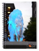 Lights In The City Spiral Notebook