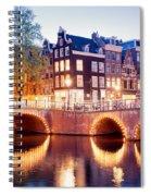 Lights Of Amsterdam Spiral Notebook