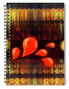 Lights_bleed Spiral Notebook