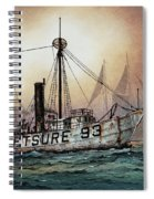 Lightship Swiftsure Spiral Notebook