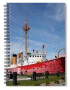 Lightvessel Overfalls Spiral Notebook