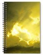 Like A Voice Through The Clouds Spiral Notebook