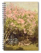 Lilac In The Sun, 1873 Spiral Notebook