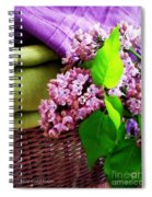Lilac Still Life Spiral Notebook