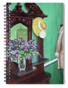 Lilac Time Spiral Notebook