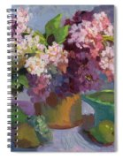 Lilacs And Pears Spiral Notebook