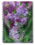 Lilacs In Lilac Vase Spiral Notebook