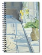 Lilies And A Straw Hat Spiral Notebook