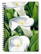 Lilies Spiral Notebook