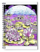 Lilies Of The Lake Spiral Notebook