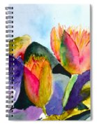 Lilies Of The Water Spiral Notebook