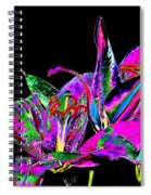 Lilies Pop Art Spiral Notebook