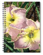 Lillies Clothed In Glory Spiral Notebook