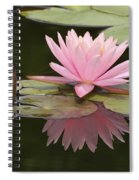 Lilly And Reflective Beauty Spiral Notebook