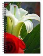 Lilly And Rose Spiral Notebook