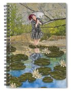 Lilly Pad Lane Spiral Notebook