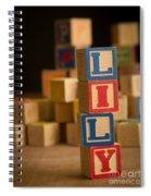 Lily - Alphabet Blocks Spiral Notebook