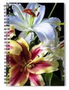 Lily Bouquet Spiral Notebook