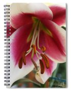 Lily Macro Spiral Notebook