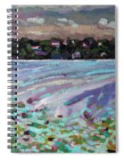 Lily Pads And Lilacs Spiral Notebook