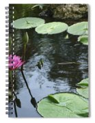 Lily Pond Spiral Notebook