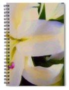 Lily Portrait Spiral Notebook