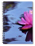 Lily Reflection Spiral Notebook