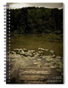 Lilypads At The Dock Spiral Notebook