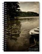 Lilypads In The Lake Spiral Notebook