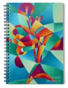 Essentially Lily Spiral Notebook